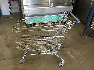 Supermarket Shopping Trolley - Ideal For Supermarkets Or Cash N Carry