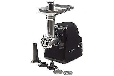 Andrew James Electric Meat Grinder Mincer & Sausage Maker Machine in Black