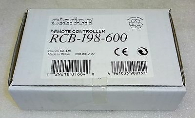 Clarion RCB198 Replacement Remote Control for Some Clarion Stereos RCB-198-600