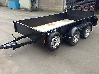 Ifor Williams Twin Axle Trailer GD105 10ft x 5ft