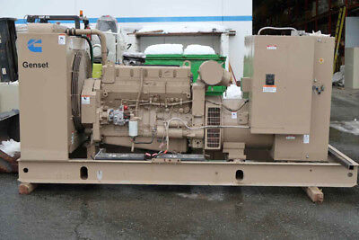 200DFAA Industrial Diesel Generator Set 3-PH, KW 300, RPM 1800