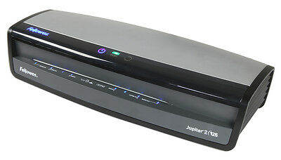 DEMO Jupiter 2-125 Thermal/Cold Pouch Laminator, Laminates up to 10 Mil Thick