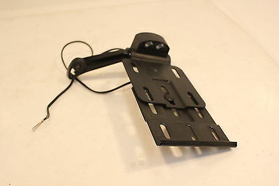 Harley Davidson Oem Sportster Side Mount License Plate Bracket With Light