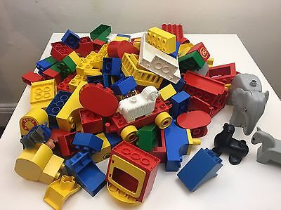 Large Bag of Lego Duplo 1.5KG With Animals
