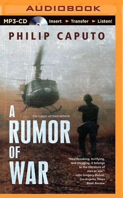 A Rumor of War by Philip Caputo (2014, MP3 CD, Unabridged)