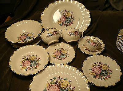 American Limoges ~ Monsoon ~ Regency Bouquet ~ Vintage China Collection ~ Exlnt