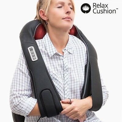 Appareil Massage Shiatsu Coussin Massant  Coussin Relaxation Dos Lombaires