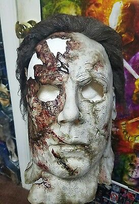 Halloween 2 Rob Zombie Mask.Michael Myers Rob Zombie Halloween 2 Dream Sequence Mask