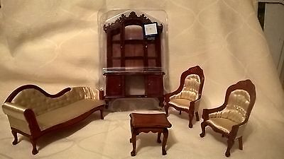 1/12th scale dolls house living room furniture