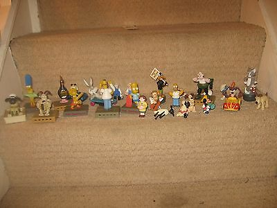 The Simpsons Family / Wallace & gromit  etc etc Collectible Mini-Figures