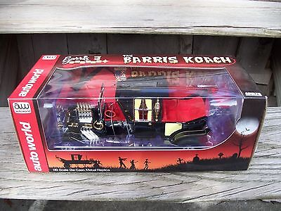 George Barris Kustoms Munsters Koach Coach Hot Rod Car 1/18 Die Cast Auto World