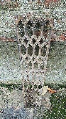 Reclaimed cast iron grate 1 of 2
