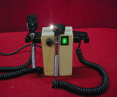 Welch Allyn 74710 Series Transformer W/ Otoscope & Ophthalmoscope Heads