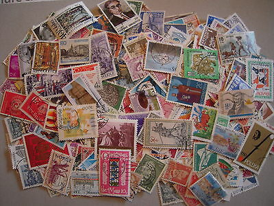 Europe Lot 500 Timbres Differents Obliteres