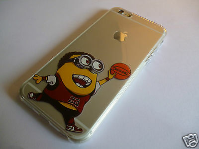 iPhone 6 6S Despicable Me Minions Clear Jelly Gel Silicone Case - Z-TECH PROTECT