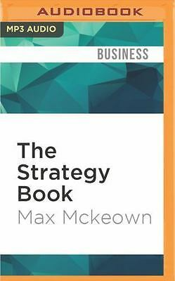 The Strategy Book by Max Mckeown (2016, MP3 CD, Unabridged)