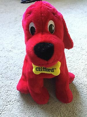 EUC! Kohls Cares Clifford Big Red Dog Plush 2003 yellow bone Plush