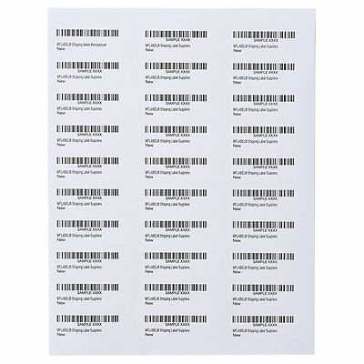 1 x 2.625 6000 Laser Label Address Shipping Mailing Label 30 Per Sheet 1 x 2 5/8