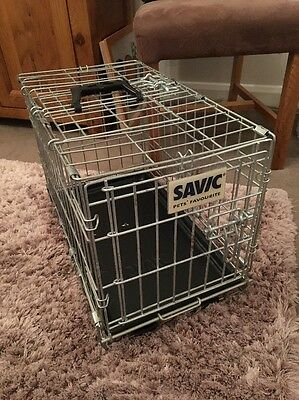 Savic Small Folding Pet Crate Dog Cage In Great Order Puppy Training Etc