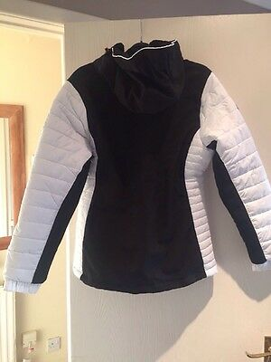 Trespass Ski Jacket. Black White. Size L New With Tags