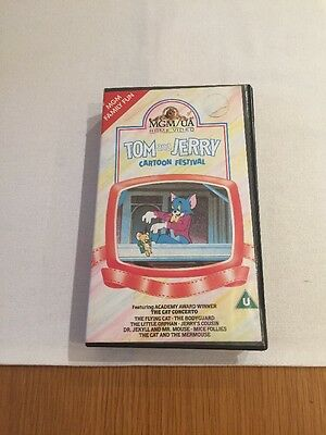 Tom And Jerry Cartoon Festival Vhs Pal