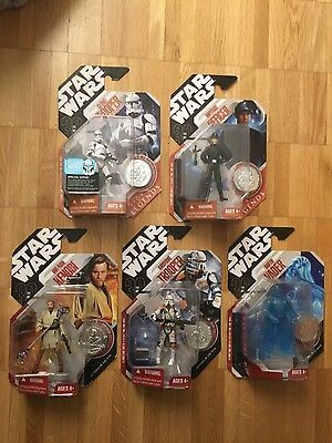 Star Wars 30th Anniversary Collection Lot / 5 Figures