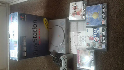 sony playstation 1 console boxed
