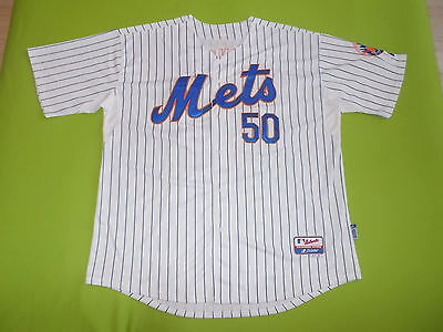 NEW Jersey NEW YORK METS (3XL) (XXXL) MAJESTIC #50 K. JOHNSON 2015 PERFECT MLB