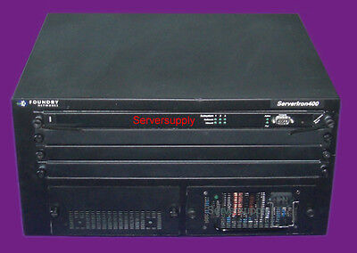Foundry Networks ServerIron 400 Web Switch L4-7 SI400