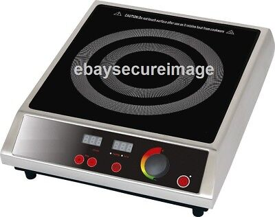Chef King BT270A  2.7kw Catering Induction Hob. No Reserve Auction Sale  HOI003