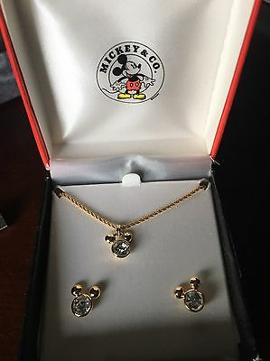 Mickey & Co Necklace And Earrings Box Set by Napier