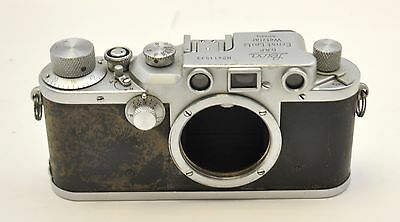 1946 Leitz Leica IIIC Rangefinder Film Camera Body