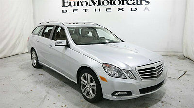 2011 Mercedes-Benz E-Class 4dr Wagon E350 Luxury 4MATIC mercedes benz e350 e 350 station wagon estate 11 12 13 navigation used financing