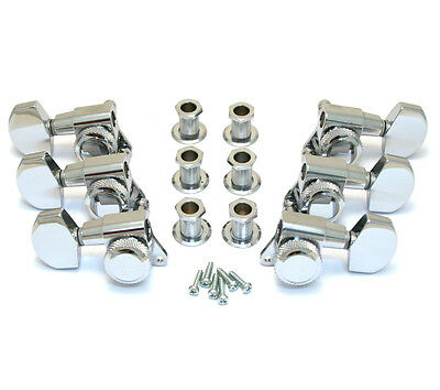 TK-0976-010 Schaller Chrome Locking 3x3 Tuners for Gibson Les Paul/SG® Guitar
