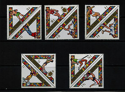 COOK ISLANDS 1969 SOUTH PACIFIC GAMES SET SG295-304 MOUNTED MINT: See Scan