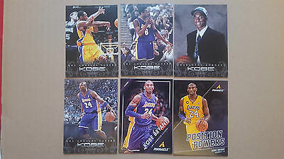 Kobe Bryant LOT 10 different inserts CARDS LOT!!!