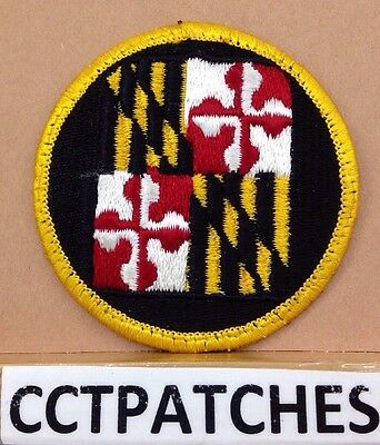 Army National Guard Maryland Patch