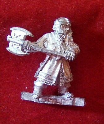Warhammer Lord of the rings METAL reconditioned GIMLI FELLOWSHIP