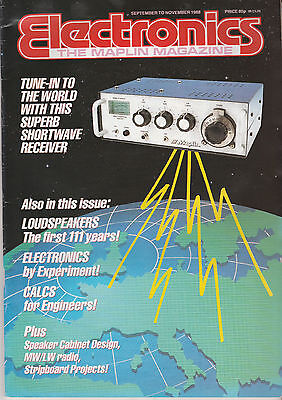 Electronics The Maplin Mag Sept To Nov '88 - 2 Way 16 Litre Loudspeaker System