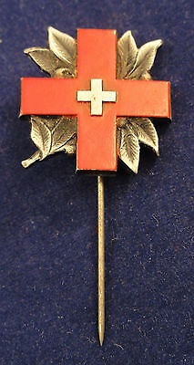 Swiss Red Cross Badge / Pin Geneva 1945