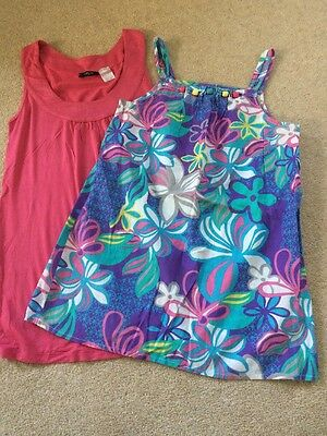 2 X Summer Tops Age 12/13  Size 4-6