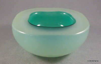 Murano Sommerso Alabastro Glass GEODE Bowl By Seguso or Cenedese ?