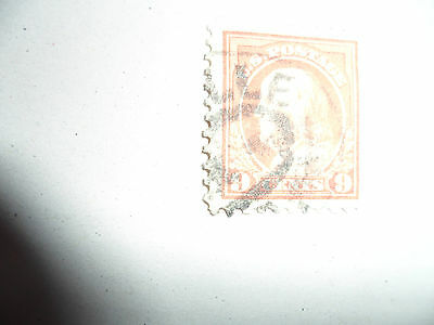 Usa Used 9C Stamp From The 1912 Series