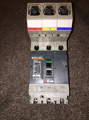 Schneider Merlin Gerin 40Amp 3 Pole Mccb Mgp0403 Compact Ns100N Powerpact 4