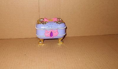 Vintage Polly Pocket 1997 Secret Jewel Case/chest RARE Bluebird