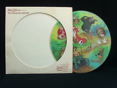 Walt Disney - The Fox And The Hounds. PICTURE DISC LP
