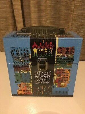 "A Tribe Called Quest. People's Instinctive Travels 7"" Boxset. Still Sealed."