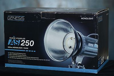 Genesis AS 250 Studio LED Monolight Flash Unit by Calumet Professional Strobe