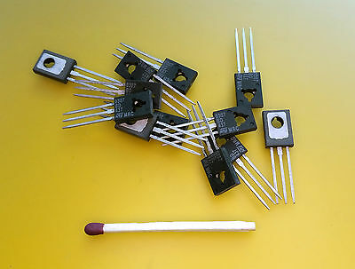 [25pcs] STM BD437 BD-437 BD43x NPN TRANSISTOR TO-126 COMPLEMENTARY SILICON POWER