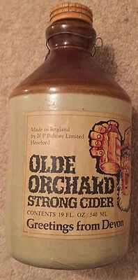 Cider Bottle Collectible Devon Cider Pearson Chesterfield
